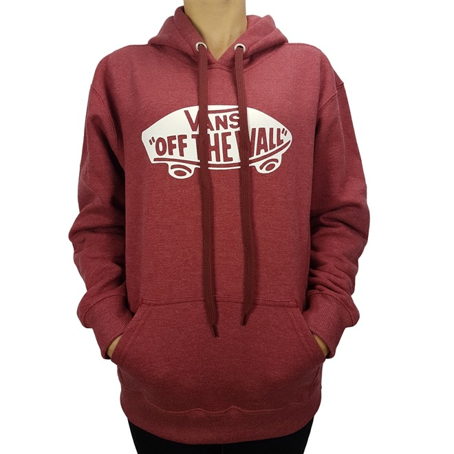 7bb97415b0fee Moletom Vans Otw Pullover Fleece B Rhubarb Heather Juvenil - R  229 ...