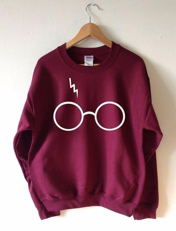 c7bf402c42f8 Moleton Blusa Feminino Harry Potter Oculos Top Inverno Frio - R$ 69 ...