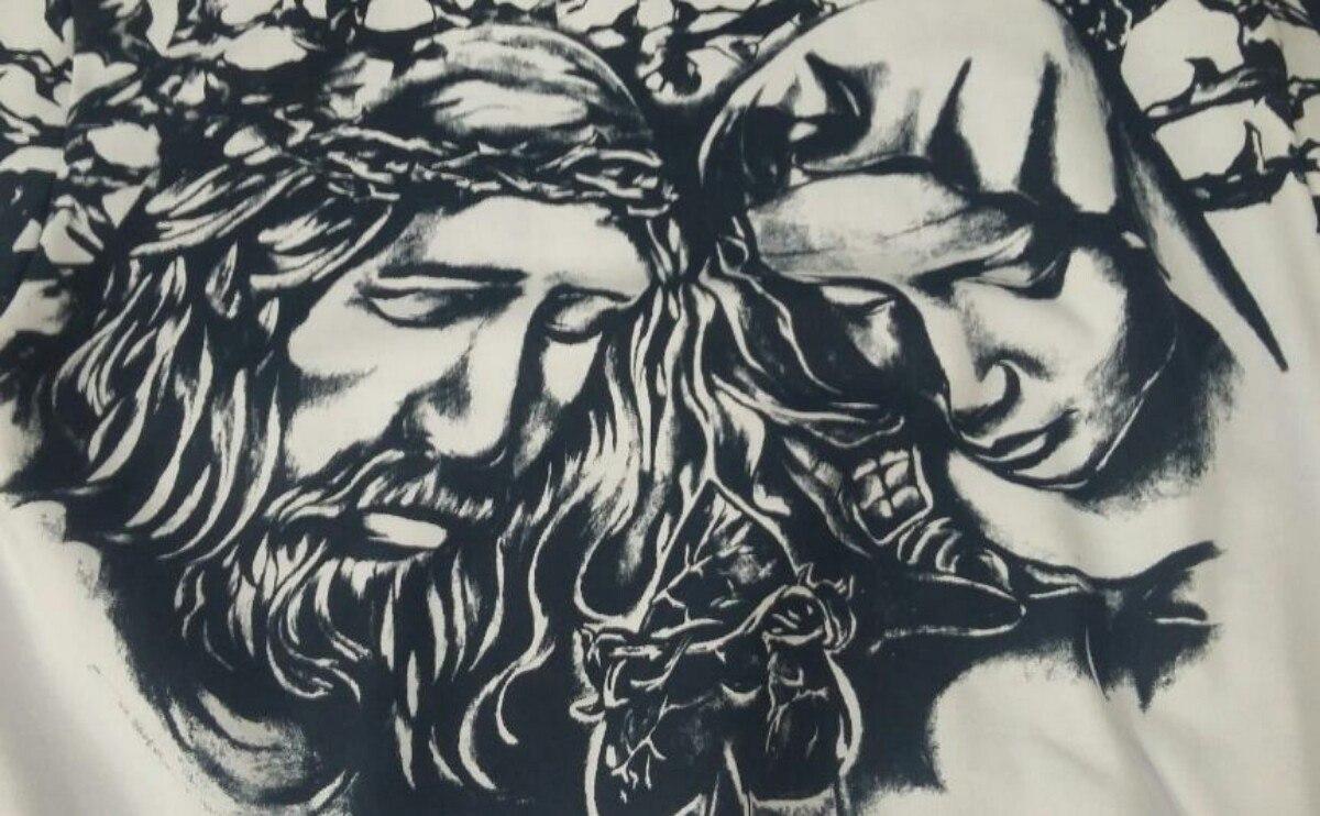 Moleton Blusa Gola Redonda Mcd Jesus And Maria - R  90 87c20345bb3