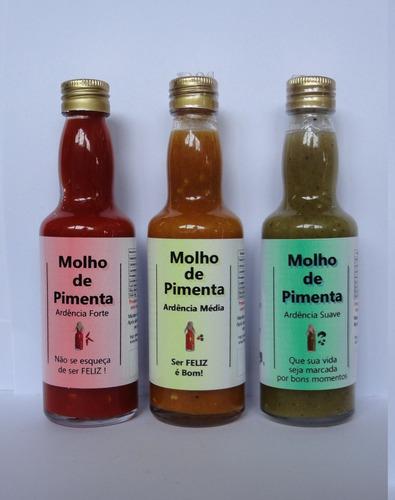 molho de pimentas habanero e bhut jolokia - garrafas 60ml