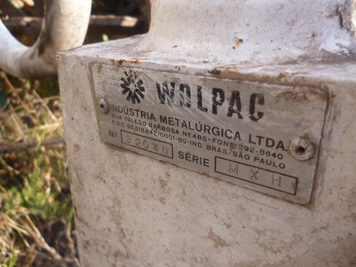 molinete antiguo con contador de linea de colectivos
