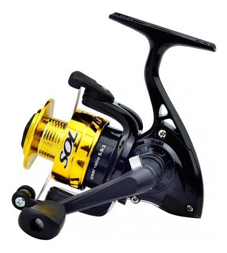 molinete marine sports sol 100 1 rolamento pesca light