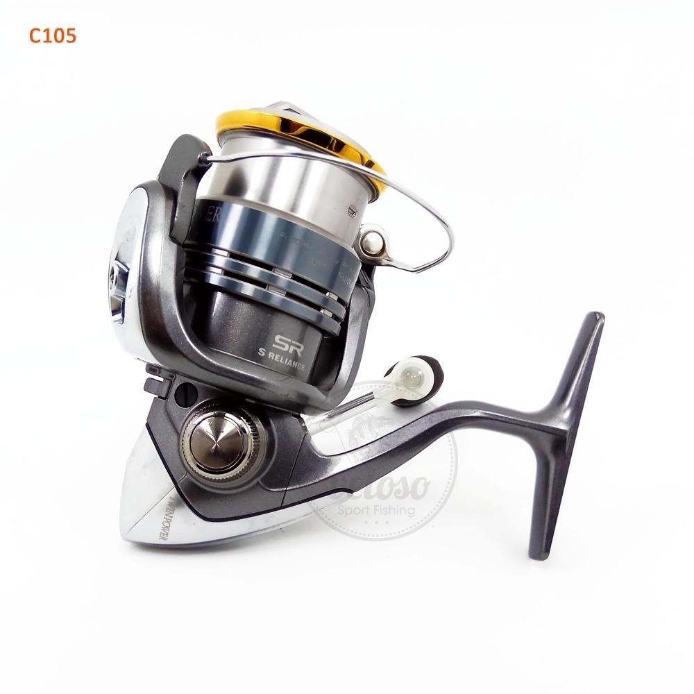 Molinete Shimano Twinpower 2500 S Pesca Carretilha Usado