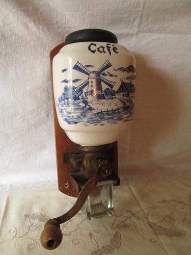 molinillo de cafe. holandés . impecable.