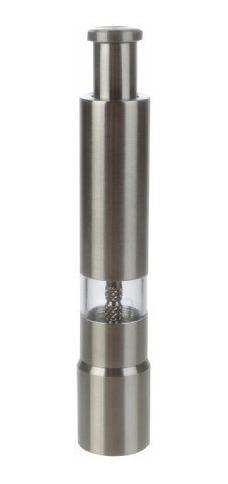 molinillo de pimienta pimentero a piston acero inox 15cm