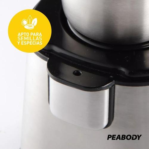 molinillo eléctrico café y semillas peabody pe-mc9100