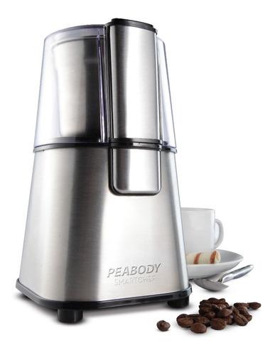 molinillo eléctrico de café y semillas peabody mc9100 full
