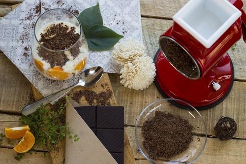 molinillo manual - frutos secos, almendras, queso, chocolate