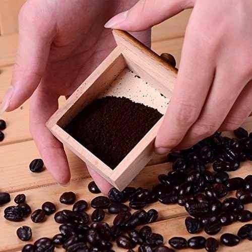 molinillo moledor granos café manual madera 52560 / fernapet