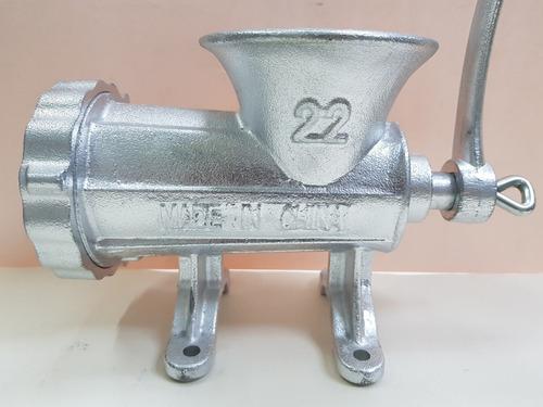 molino carne no 22 manual cubierta estaño montar sobre mesa