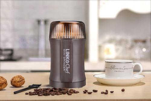 molino de cafe electrico linkchef 200w + hojilla de repuesto