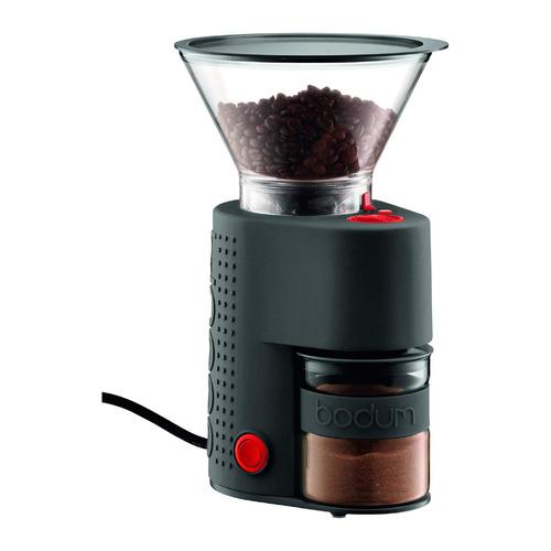 molino de café electrónico bodum bistro burr grinder negro
