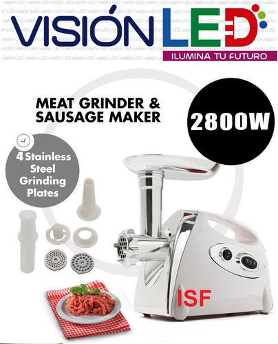 molino de carne 2800 watts super potente + accesorios