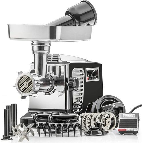 molino de carne  5 hp, 6 platos, 3 cuchillas y pedal nuevos