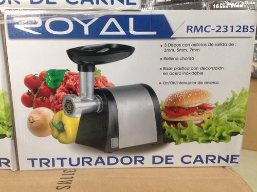 molino de carne electrico royal