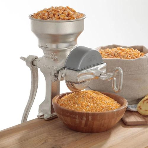 molino de grano corona tradicional