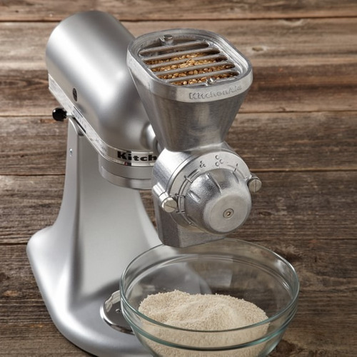 molino de granos trigo maiz para batidoras kitchenaid 12 niv