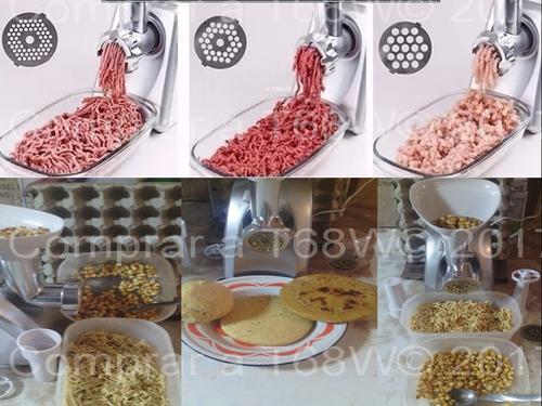 molino eléctrico multiuso de carne, maiz, etc, lt
