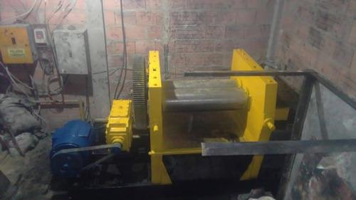 molino industrial para proceso de caucho en venta o permuta.