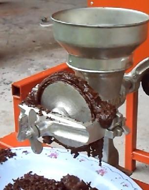 molino para pasta de cacao