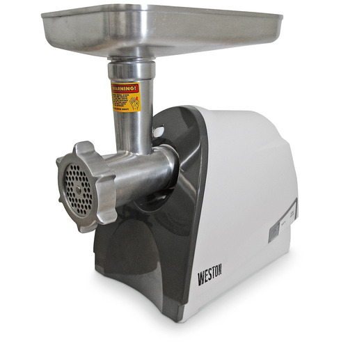 molino weston 575 watt heavy duty grinder, plata
