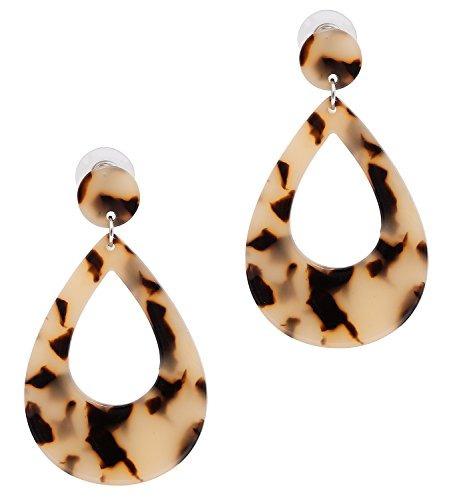 bb54d4b514e7 Moloch Pendientes De Gota De Resina Para Mujer Acrílico Dis -   96.900 en  Mercado Libre