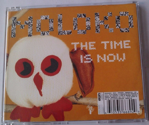 moloko the time is now cd single made in brazil año 2000 bvf