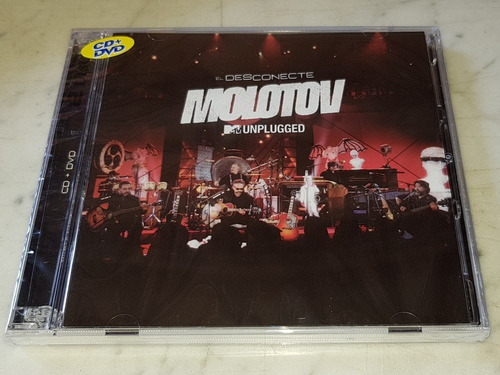 molotov mtv unplugged cd + dvd  original disponible!!