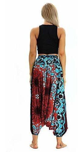 comprar popular 65c9e 77637 Molyveva Mujeres Casual Suelto Yoga Pantalones Baggy Boho Al