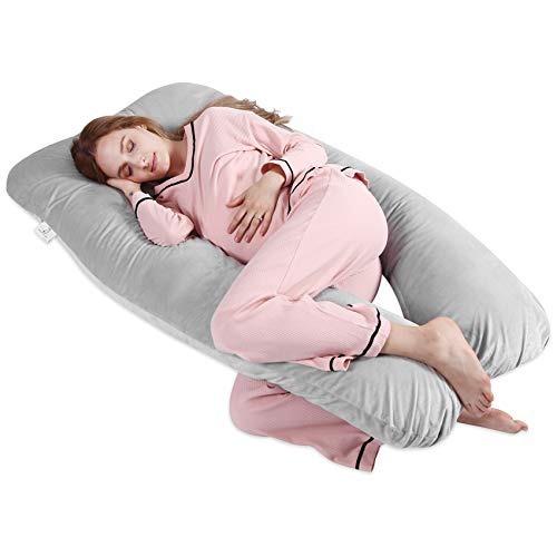 moma embarazo almohada - 55 x31 tamaño en forma de u
