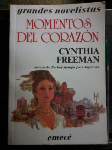 momentos del corazón  - cynthia freeman - emecé - 1987