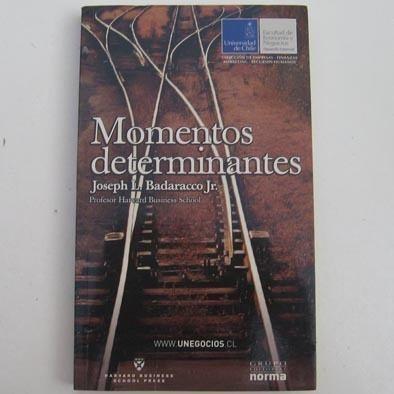 momentos determinantes, joseph l. badaracco, ed. norma, harv