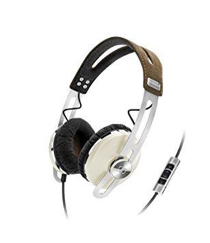momentum sennheiser en auriculares del oído - marfil