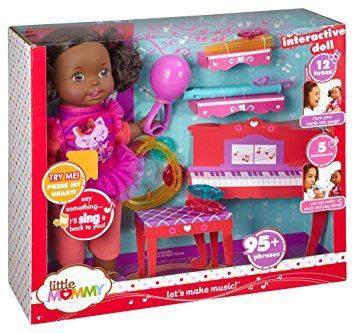 mommy muñ juguete little