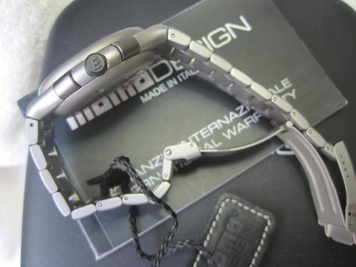 momo design,cronocompetition,titanium,caixa,manual,certicado