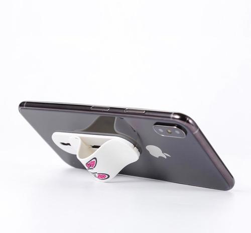 momostick soporte y agarre con los dedos para celular momo