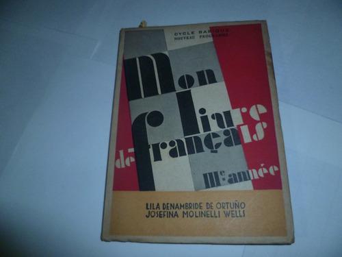 mon livre de francais - iii annee