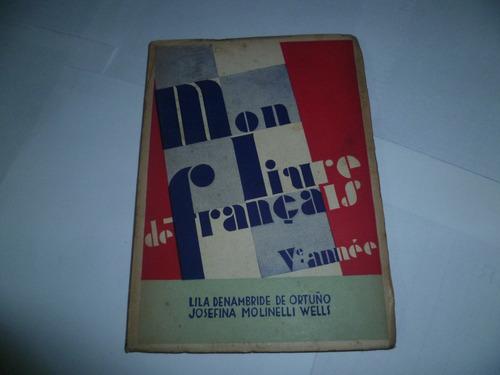 mon livre de francais - v annee