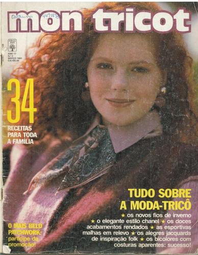 mon tricot ano 17 nº 3 março de 1991 - promoção