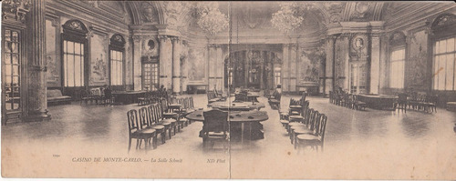 monaco antigua postal doble casino montecarlo sala schmidt