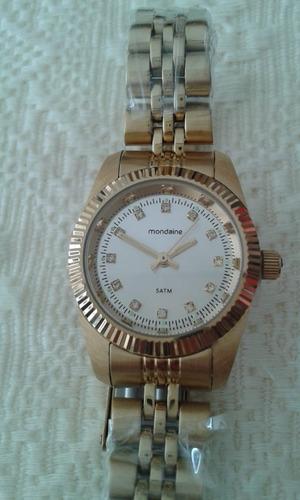 mondaine feminino relógio