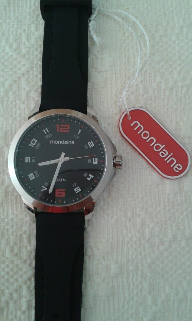 0bc9f6329e8 Relógio Mondaine Masculino 99349g0mvni2 - R  187