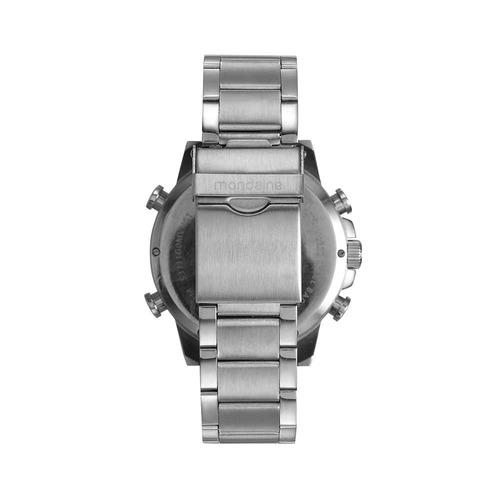 mondaine relógio analógico e digital prata