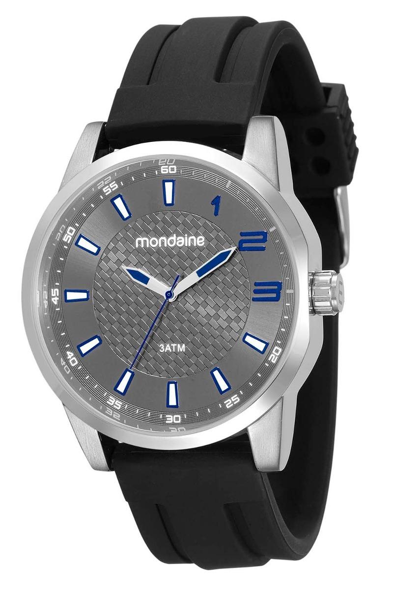 6721474f5a9 mondaine relógio pulseira borracha preto 53526g0mvni2. Carregando zoom.