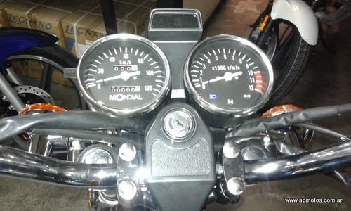 mondial hd 150 0km motos ap