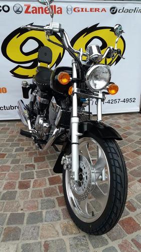 mondial hd 250 254 0km 2017 moto choppera bicilindrica