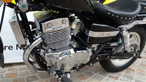 mondial hd 250 254 okm 2016 moto chopera bicilindrica