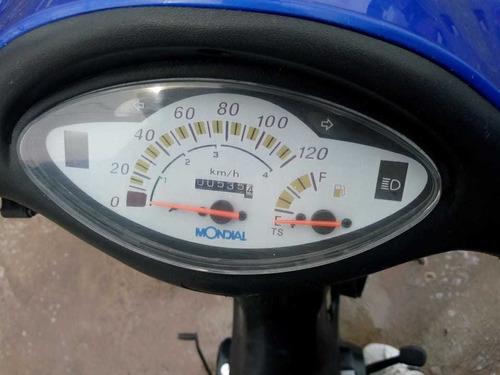 mondial ld 110 con 530 km