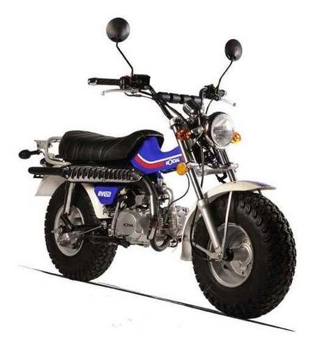 mondial rv 125 18 cuotas de $8054  oeste motos