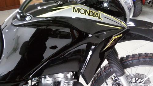 mondial td 150 l en motolandia !!!